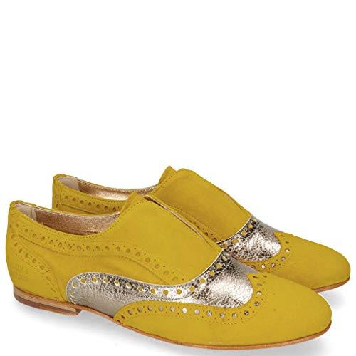 Melvin & Hamilton Sonia 1 Parma Suede Yellow-38 -