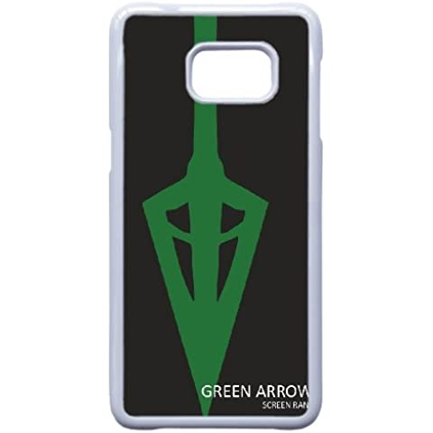 Custom personalized Case-Samsung Galaxy Note 5 Edge-Phone Case Green Arrow Design your own cell Phone Case Green