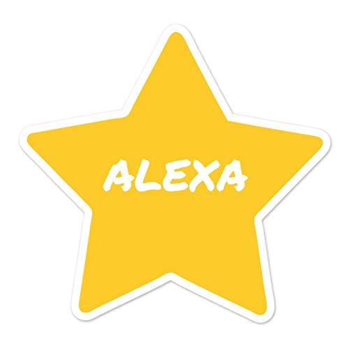 Preisvergleich Produktbild JOllify Aufkleber - ALEXA – Farbe: Design: Stern