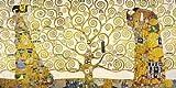 Leinwandbild - Gustav Klimt - Lebensbaum - 130 x 65 cm - Premiumqualität - MADE IN GERMANY - Art Galerie Shop