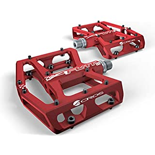 ACROS A-Flat XL Pedale rot 2018 Dirt-Pedale Dirtbike-Pedale