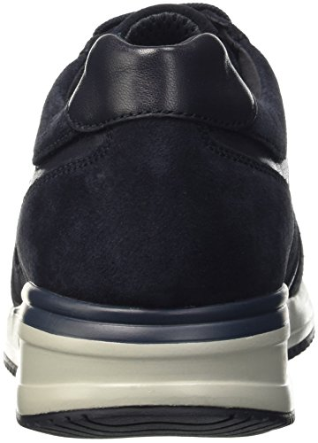Geox U Dennie B, Baskets Basses Homme Blau (NAVYC4002)