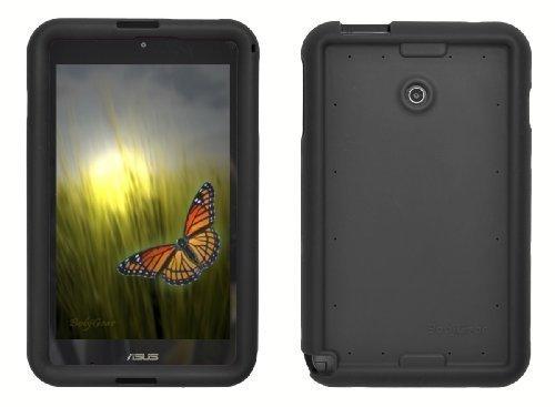 Bobj Silikon-Hulle Heavy Duty Tasche fur ASUS VivoTab Note 8 Tablette M80TA - BobjGear Schutzhulle (Schwarz)