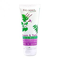 Patanjali Neem Tulsi Face Wash, 60gm - Pack of 3