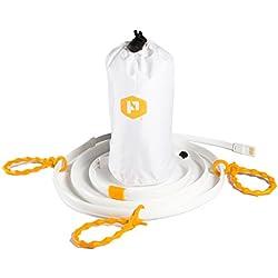 Cuerda de luz LED Luminoodle para camping, excursionismo, seguridad y emergencias - Tira de luz LED portátil que también funciona como lámpara LED