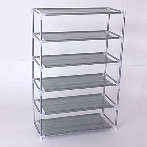 EgBert Multi Tiers Schuhe Shelf Speicher DIY Metal-Organisator Rack Holder Household Steht - 6