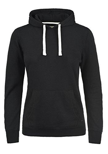 Schwarze Fleece-sweatshirt (DESIRES Olive Damen Kapuzenpullover Hoodie Sweatshirt mit Fleece-Innenseite aus hochwertiger Baumwollmischung, Größe:M, Farbe:Black (9000))