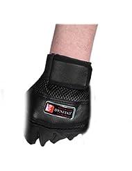 guantes ciclismo Sannysis levantamiento de pesas guantes para Hombre Guantes Deportivos (Negro)