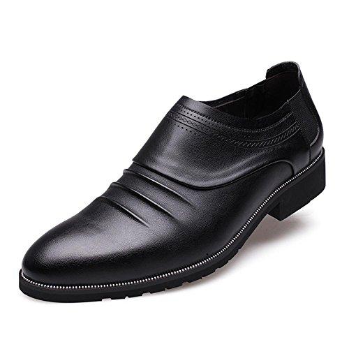 mode automne hiver de masculine en cuir véritable cuir Business chaussures classic pointus chaussures casual