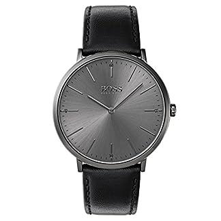 Hugo BOSS Reloj Análogo clásico para Hombre de Cuarzo con Correa en Cuero 1513540