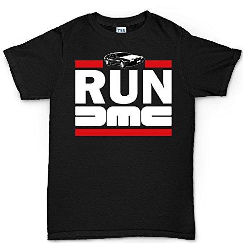 Time Machine T shirt (Zurück In Die Zukunft Kostüm Marty)