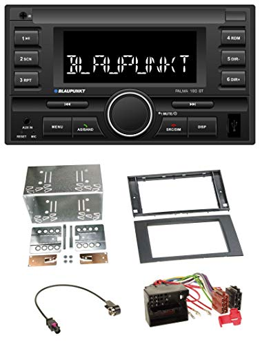 Palma 190 BT MP3 USB 2DIN Bluetooth AUX Autoradio für Ford Fusion Transit Kuga 05-12 schwarz ()