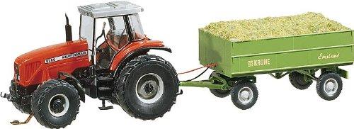 faller car system h0 FALLER 161536 - Traktor MF mit Anhänger (Wiking)