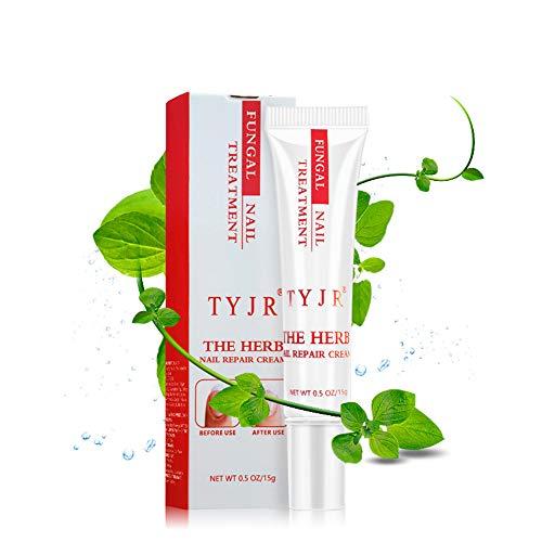 Herb Nail Repair Cream Anself Herbal Fungal Nail Treatment Toenail Fungus Removal Feet Care Anti-Fungal Nail Repairing Gel 15g