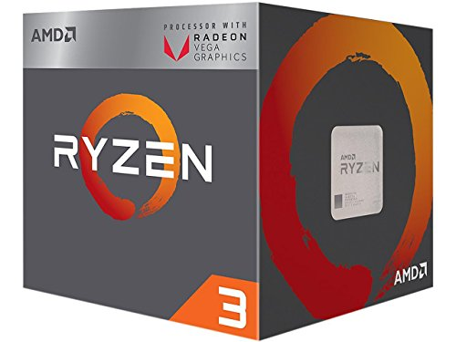 AMD Ryzen 3 Box processor - Processore 3, 3.5 GHz, Socket AM4, PC, 14 nm, 2200G