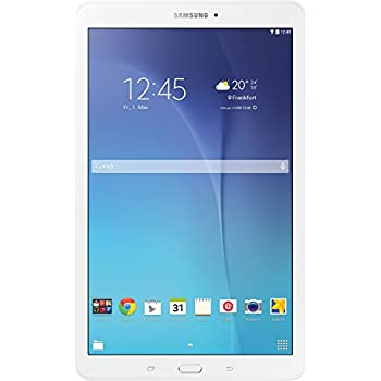 "Samsung Galaxy Tab E - Tablet de 9.6"" (WiFi, T-Shark2 Quad Core de 1.3 GHz, 8 GB, 1.5 GB RAM, Android KitKat), blanco (Versión europea)"