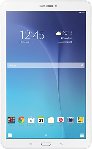 Samsung Galaxy Tab E T560N 24,3 cm (9,6 Zoll) Einsteiger Tablet-PC (Quad-Core, 1,3GHz, 1,5GB RAM, WiFi, Android 4.4) weiß (Galaxy 3 10-zoll-tablet)