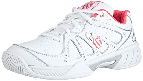 super popular 2a5aa 26362 K-Swiss Performance KS TFW Express 100-WHITE NEON Red, Unisex-Erwachsene  Tennisschuhe, Weiß (White Neon Red), 39 EU (5.5 Erwachsene UK)