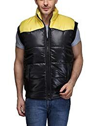 TSX Men's Nylon Cut Sleeve Jacket
