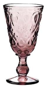 La Rochère 6 Verres à vin LYONNAIS améthyste La Rochere