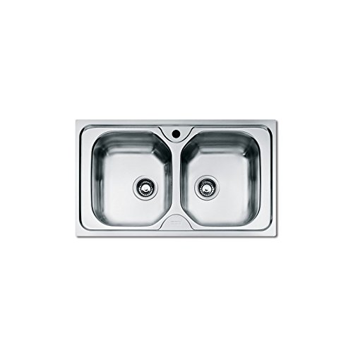 Franke olx 620top-mount Sink Auflage (über Spüle Arbeitsplatte, Rechteckig, Edelstahl,...