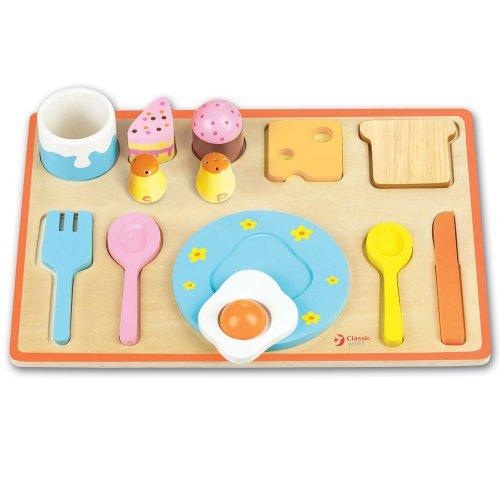 Classic World Breakfast Puzzle, Multi Color