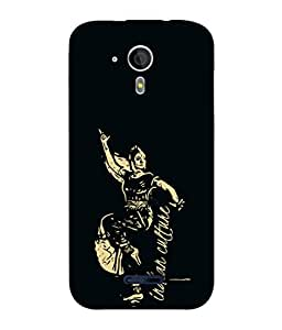 PrintVisa Designer Back Case Cover for Micromax Canvas Magnus A117 :: Micromax A117 Canvas Magnus (Bharat natyam kucchipudi katthak dance culture indian)