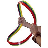 Koordinationsringe / flache Gymnastikringe, 12er Set, Ø 45 cm, 4 Farben
