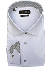 Jacques Britt Hemd Ben Mix EEL extra extra langer Arm Custom Fit Weiß Art.Nr.462002/01
