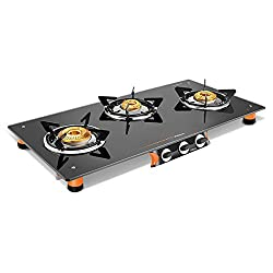 Vidiem Air Pride 3 Burner Glasstop Gas Stove