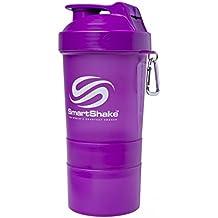 Smart Shake Coctelera, 1er Pack (1 x 600 ml), Neon de Lilla