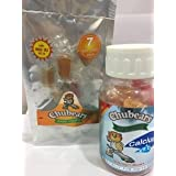 COMBO PACK - Chubears STRONG BONES calcium plus vitamin D (400 IU) gummy for 30 days + STARTER PACK 10 Multivitamin gummy for 10 days - India's favorite Natural gummy vitamins for children, Natural Fruit Flavor, Made in India, Lab tested safe & effective, Health supplement