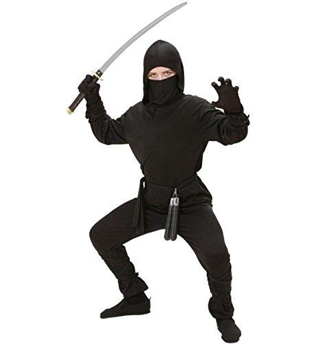 Ninja - Kinder-Kostüm - Small - (Dress Ideen Kostüm S Fancy)
