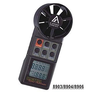 AZ-8906 Air Temperature and Air Flow Meter Wind Speed Measuring Instrument