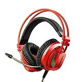 Siberia V10 Gaming Headset Kopfhörer Stereo Umgeben Mit Mikrofon Headset Für PC Desktop Computer Schock Lumineszenz