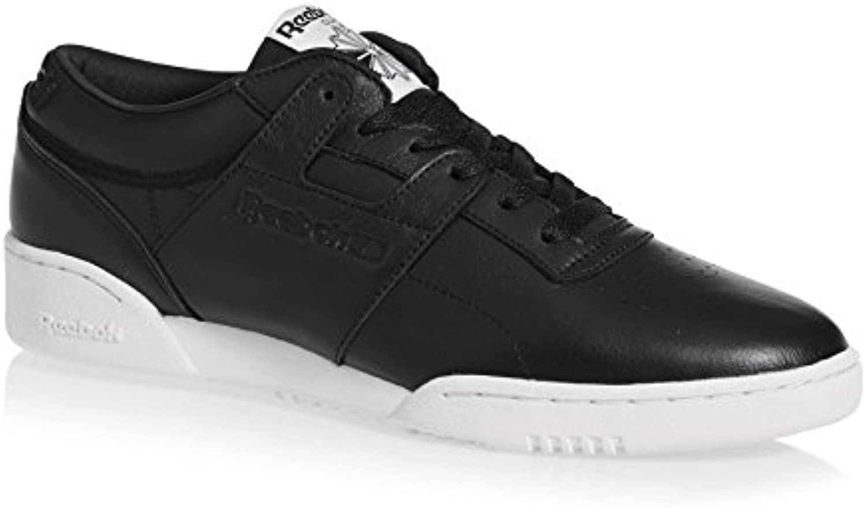 Reebok WORKOUT LO CLEAN ID - Zapatillas de deporte, Hombre, Negro - (BLACK/BLACK/WHITE)