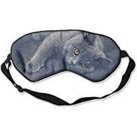 Shorthair Cat Grey Sleep Eyes Masks - Comfortable Sleeping Mask Eye Cover For Travelling Night Noon Nap Mediation... preisvergleich bei billige-tabletten.eu