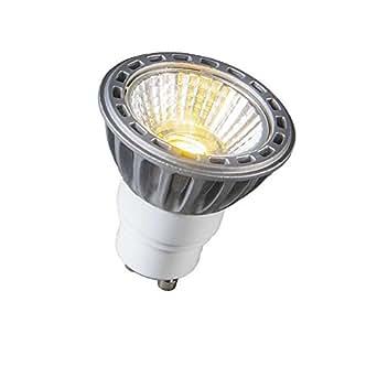 QAZQA Lampe GU10 LED 4.2W Blanc chaud 230 lumen DIMMABLE / Lampe de lecture