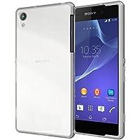 Elegante funda transparente , gel de silicona, para Sony Xperia Z2