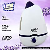 Allin Exporters PH906 Cool Mist Dolphin Humidifier Adults and Baby Bedroom 2 L