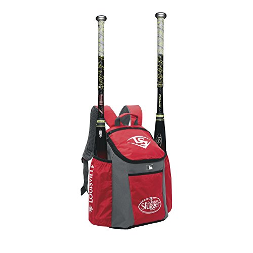 Louisville Slugger-Rucksack Baseball Louisville Slugger EB Series 3Stick Pack rot