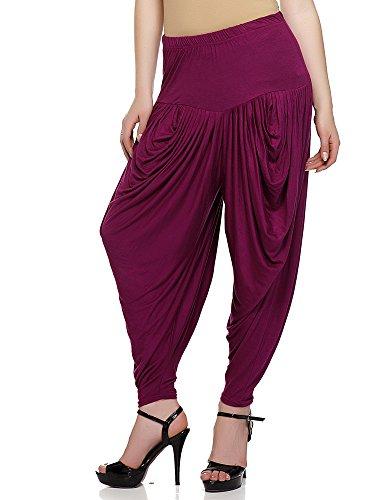 Sakhi Sang Violet Dhoti Salwars