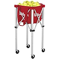 Wilson Teaching Cart 150 Carrito para Pelotas-Unisex, Adulto, NS