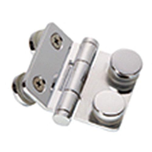 En alliage de cuivre 135° Charnière de porte en verre support de fixation pour pour 5mm   en verre Chrome Fini