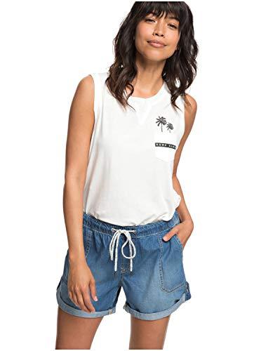 Roxy Damen Arecibo Short Denim, medium Blue, S