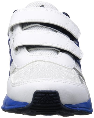 adidas Performance Hyperfast Cf K D67258 Unisex - Kinder Laufschuhe Weiß (RUNNING WHITE FTW / BLUE BEAUTY F10 / METALLIC SILVER)
