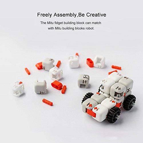 Zantec Regalo di Compleanno Original Xiaomi MITU Cubes Spinner Finger Bricks Giocattoli Intelligenti Intelligenza Fidget Magic Cubes Infinity Toys Ansia da Stress - 4