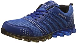 Steemo Men's Navy and Blue Running Shoes - 9 UK/India (43 EU)(STM1022)