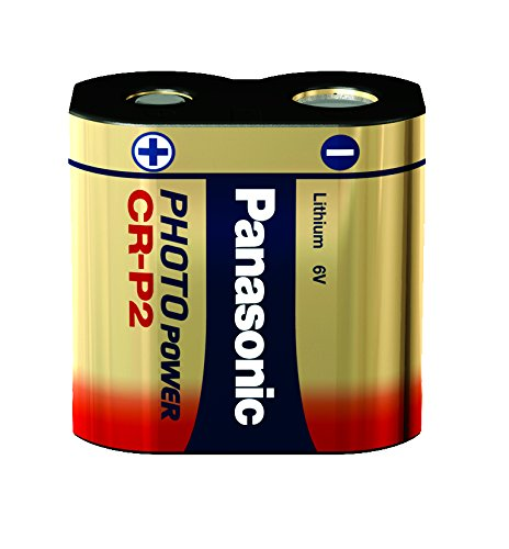 Panasonic Photo Lithium Battery CRP2 - Pilas (Nickel-Oxyhydroxide...