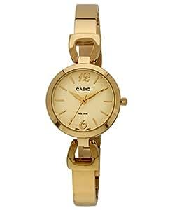 Casio Enticer Analog Gold Dial Women's Watch - LTP-E402G-9AVDF(A980)